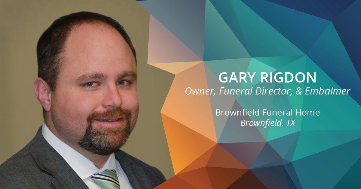 Gary Rigdon Social Media Image