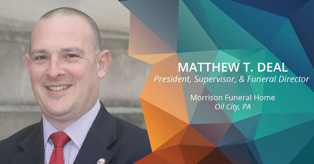 MATTHEW T. Deal headshot