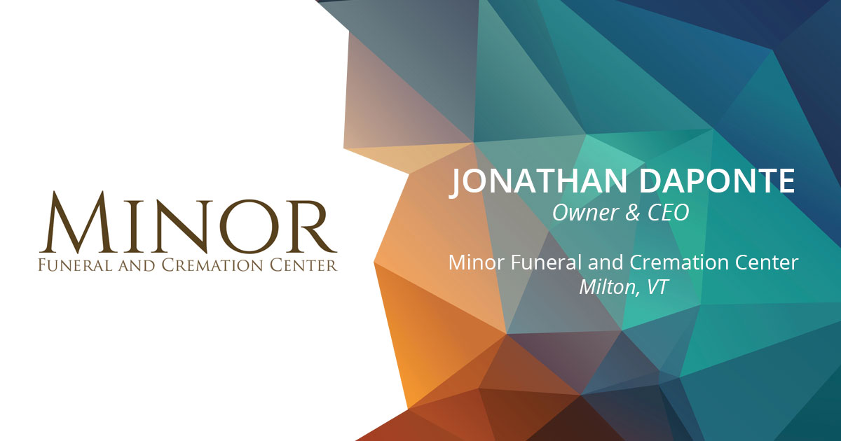 Minor funeral and cremation center logo