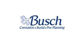 busch funeral home logo